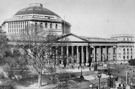 Archive photo of Melbourne Public Library