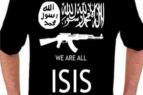 'We are all ISIS' T shirt