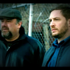 James Gandolfini and Tom Hardy in The Drop