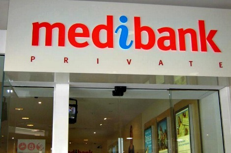 Medibank Private shop front