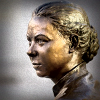 Young Mary MacKillop bronze statue