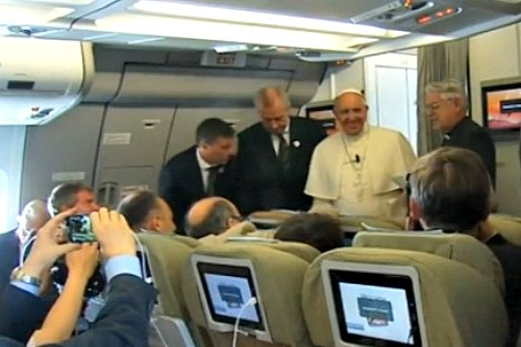 Pope Francis in-flight media conference