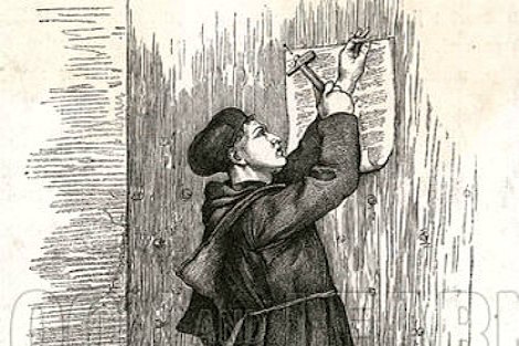 research paper martin luther s 95 theses Today is not just halloween (check out my post and podcast on ghosts and saints in scripture and catholic teaching here), it is also reformation daytoday protestants celebrate martin luther's nailing of 95 theses to the door of the wittenberg church.