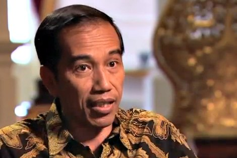President Joko Widodo speaks with CNN's Christiane Amanpour