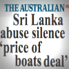Headline Sri Lanka abuse silence 'price of boats deal'