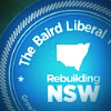 Mike Baird Election Campaign Badge