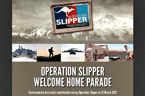 Operation Slipper poster