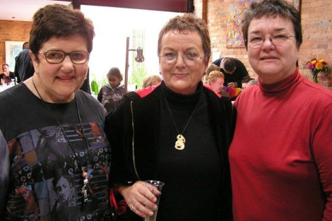 Joan Kirner, Moira Rayner and Judy Small