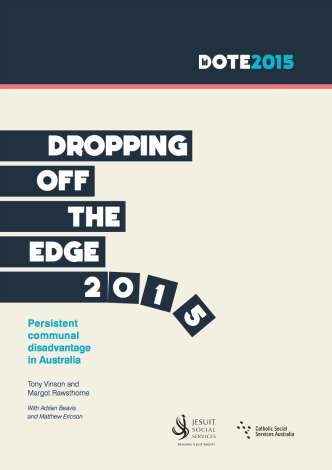 Cover of Dropping off the Edge 2015 report