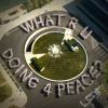 UN staff spell out What RU Doing 4 Peace?
