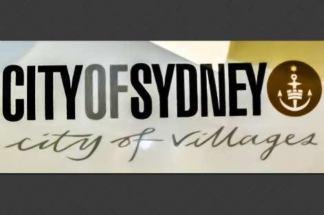 Sydney City of Villages sign