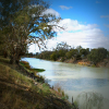Darling River at Menindee, New South Wales