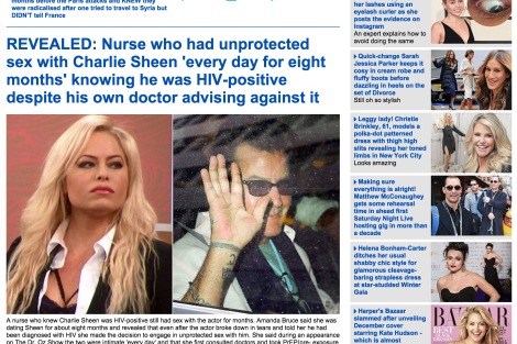 Mail Online screenshot