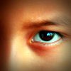 Eyes of a young resident of Santa Rita, Bolivia. UN Photo/Evan Schneider