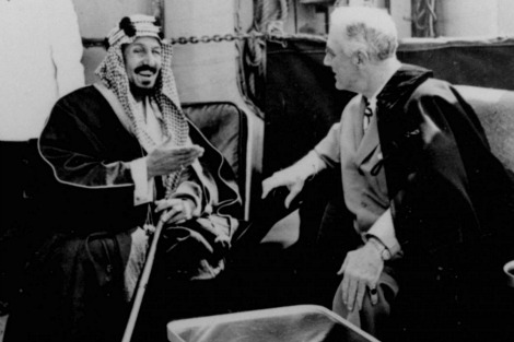 King Abdul Aziz and President Roosevelt