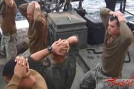 American sailors detained in Iranian waters