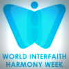 World Interfaith Harmony Week butterfly logo