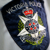 Victoria police shoulder badge