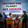 Religious leaders protest Maules Creek coal mine in northern NSW in 2014. Photo by Tania Marshall