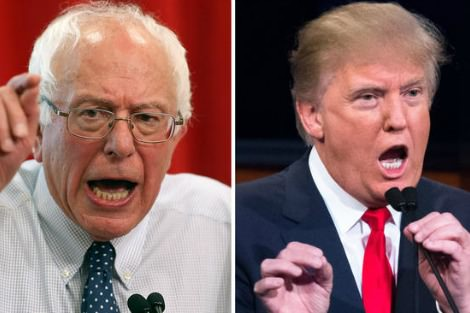 Bernie Sanders and Donald Drumpf