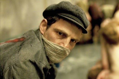 Geza Rohrig in Son of Saul