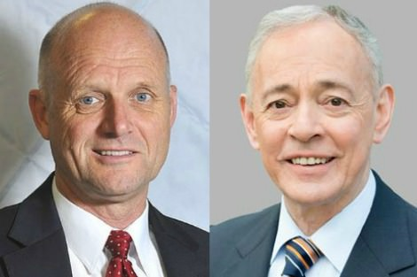 David Leyonhjelm and Bob Day