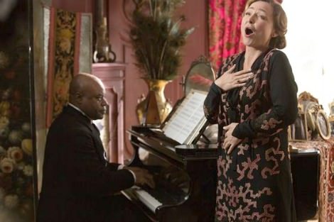 Denis Mpunga and Catherine Frot in Marguerite