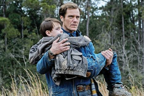Michael Shannon and Jaeden Lieberher in Midnight Special