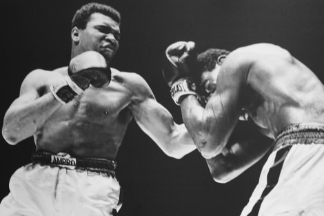 Muhammad Ali fighting