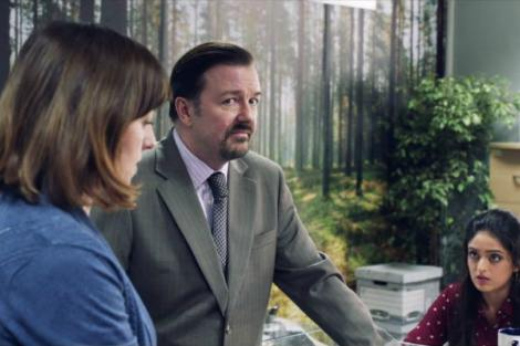 Ricky Gervais in David Brent Life on the Road