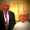 Frank Brennan with the Master of the Dominicans Fr Bruno Cadore OP.