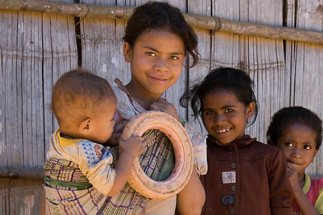 East Timorese children