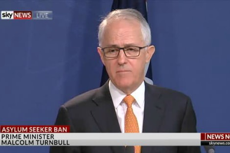 Malcolm Turnbull on Sky News