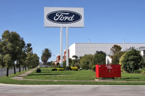 Ford factory Geelong