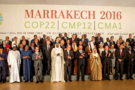 COP22 gathering in Marrakech