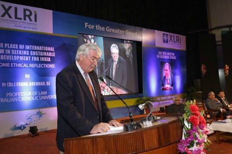 Frank Brennan delivers Tata lecture