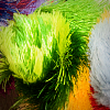 Colourful pompoms