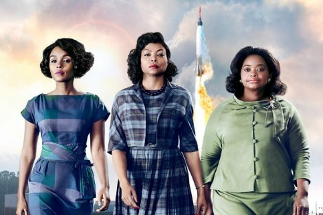 Janelle Monáe, Taraji P. Henson and Octavia Spencer Hidden Figures poster