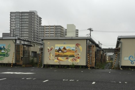 Asuto Nagamachi temporary housing units in the city of Sendai