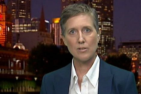 Sally McManus on ABC 7.30