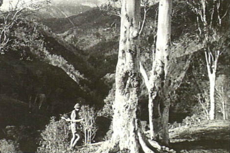 Australian commando in East Timor