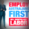 Labor's 'Employ Australians First' advertisement