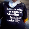 t-shirt This is what a Muslim feminist looks like