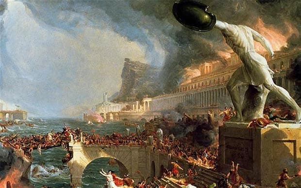 Thomas Cole's 'The Fall of Rome'