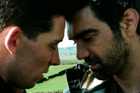 Josh O'Connor and Alec Secareanu in In God's Country