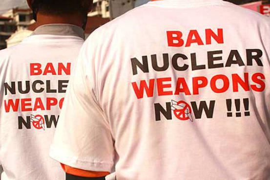 Ban the bomb t-shirts