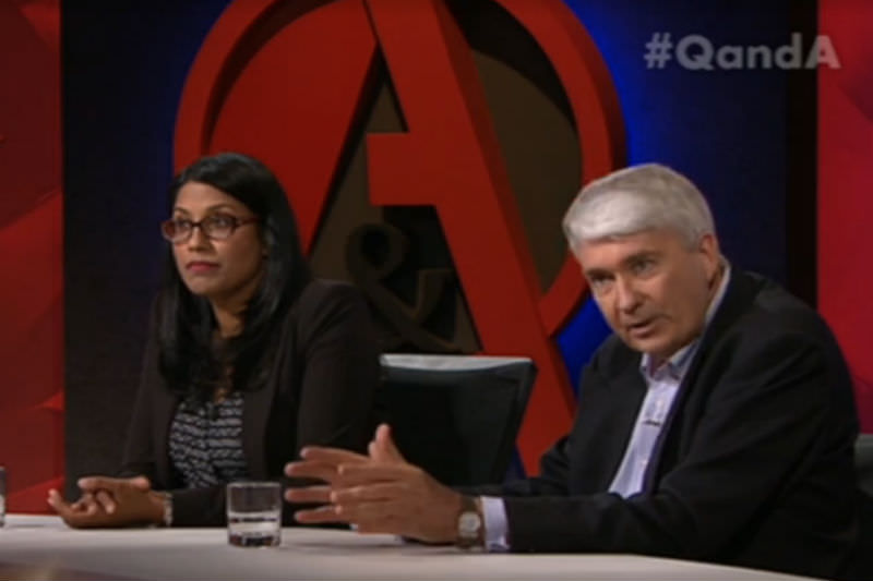 Karina Okotel and Frank Brennan on QandA