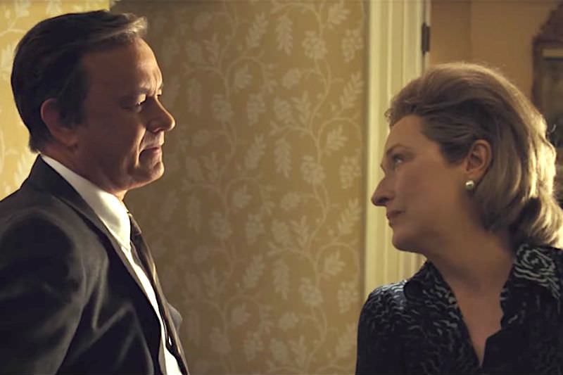Tom Hanks and Meryl Streep in The Post