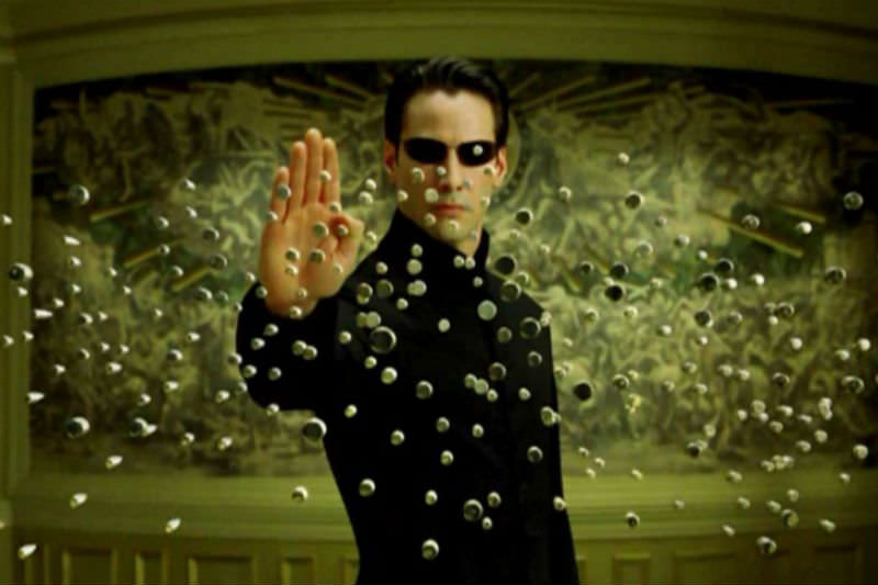 Keanu Reeves in The Matrix