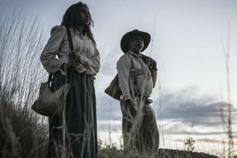 Natassia Gorey Furber and Hamilton Morris in Sweet Country